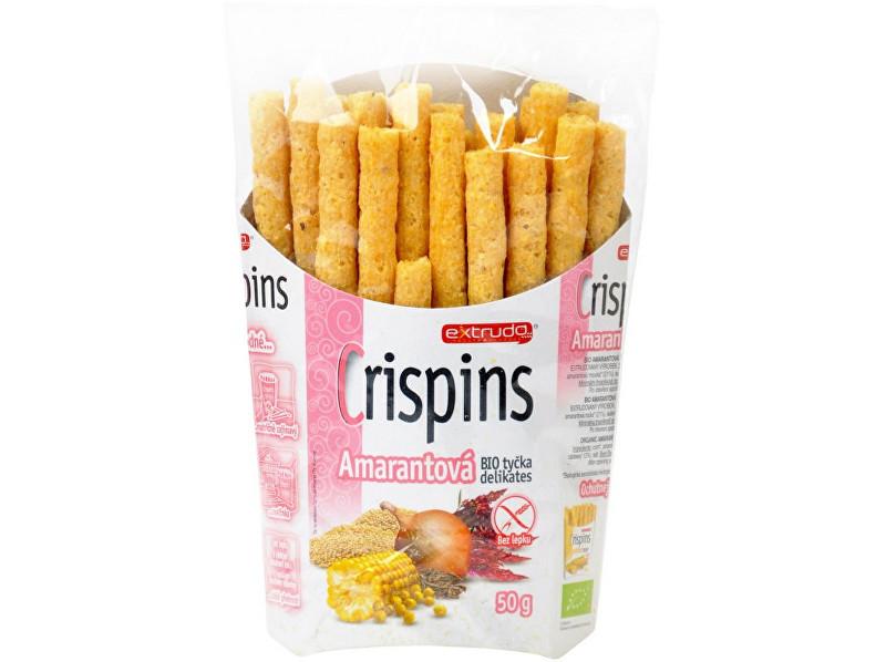 EXTRUDO Bio Crispins tyčka amarantová delicates 50g