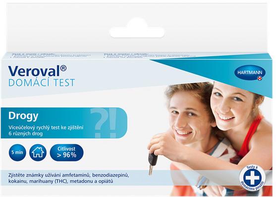 Drogy domácí test