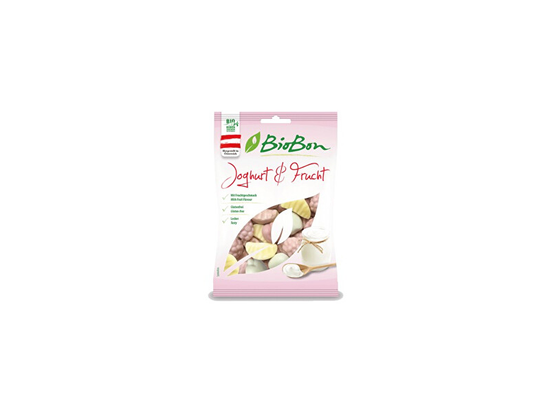 Zobrazit detail výrobku bio bon Bio Gumové bonbóny jogurt ovoce 100g