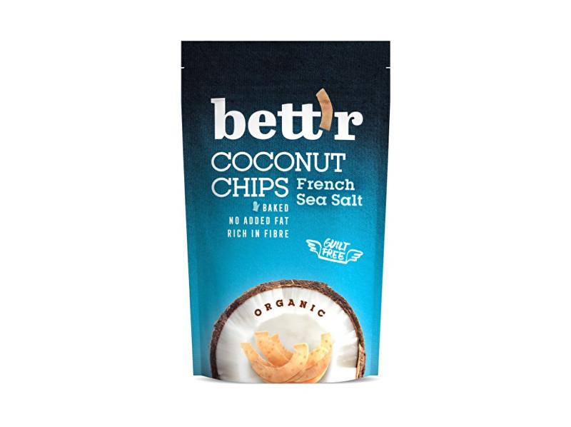 Zobrazit detail výrobku Bettr Bio Kokos chips s mořskou solí 70g