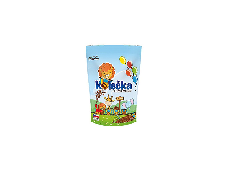 Zobrazit detail výrobku Carla Kolečka z mléčné čokolády 200g
