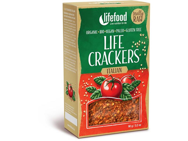 Zobrazit detail výrobku Lifefood Bio Life crackers Italské RAW 90 g