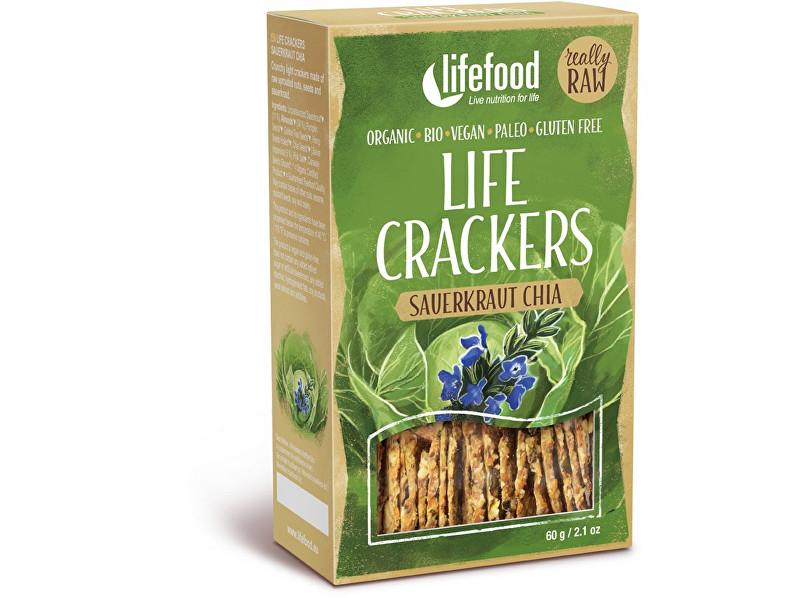 Zobrazit detail výrobku Lifefood Bio Life crackers Zelánky RAW 60 g