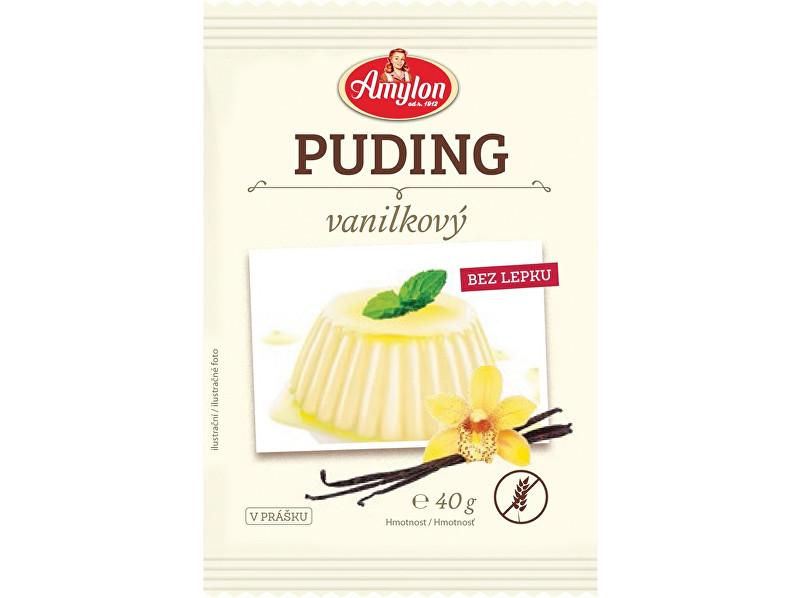 Amylon Puding vanilkový Amylon 40g