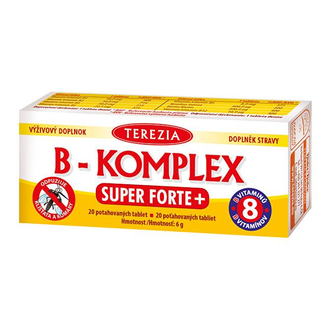 Zobrazit detail výrobku Terezia Company B-komplex Super Forte 20 tablet