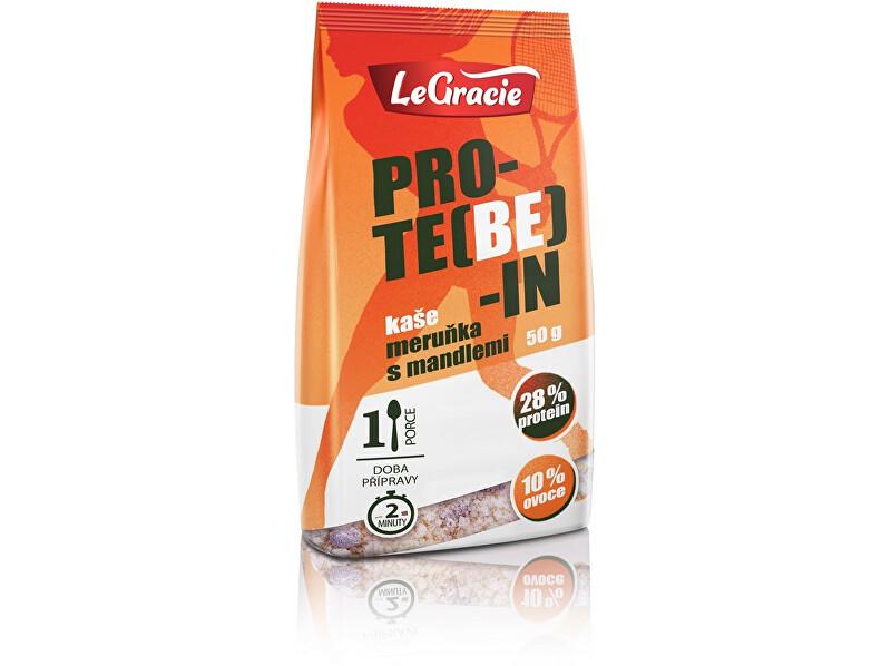 Zobrazit detail výrobku LeGracie Bezlepková proteinová kaše PRO-TE(BE)-IN meruňka s mandlemi 50g