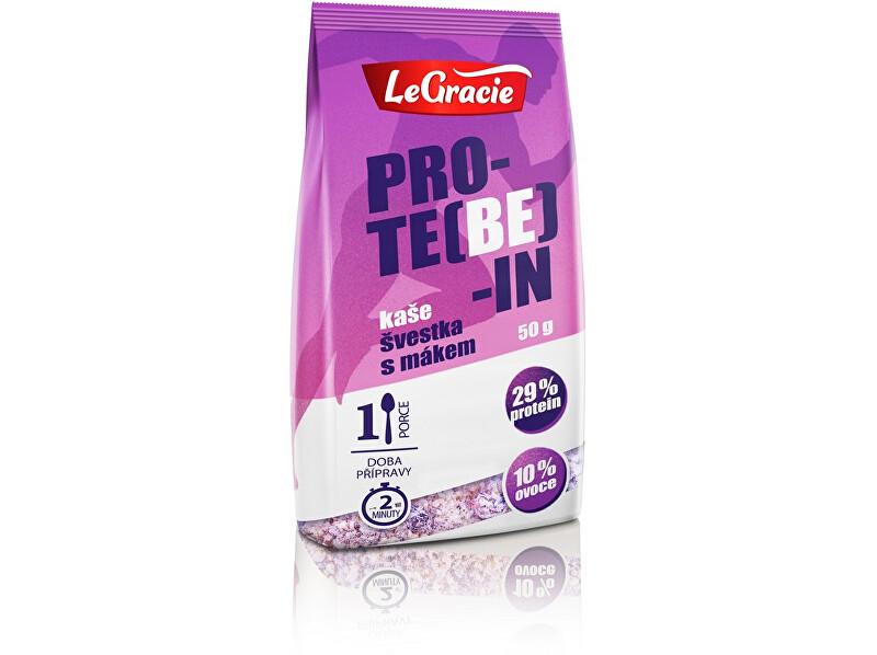 Zobrazit detail výrobku LeGracie Bezlepková proteinová kaše PRO-TE(BE)-IN švestky s mákem 50g
