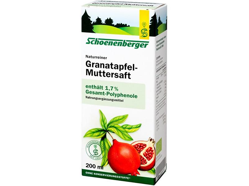 Schoenenberger Bio čerstvá rostlinná šťáva Schoenenberger - Granátové jablíčko 200ml