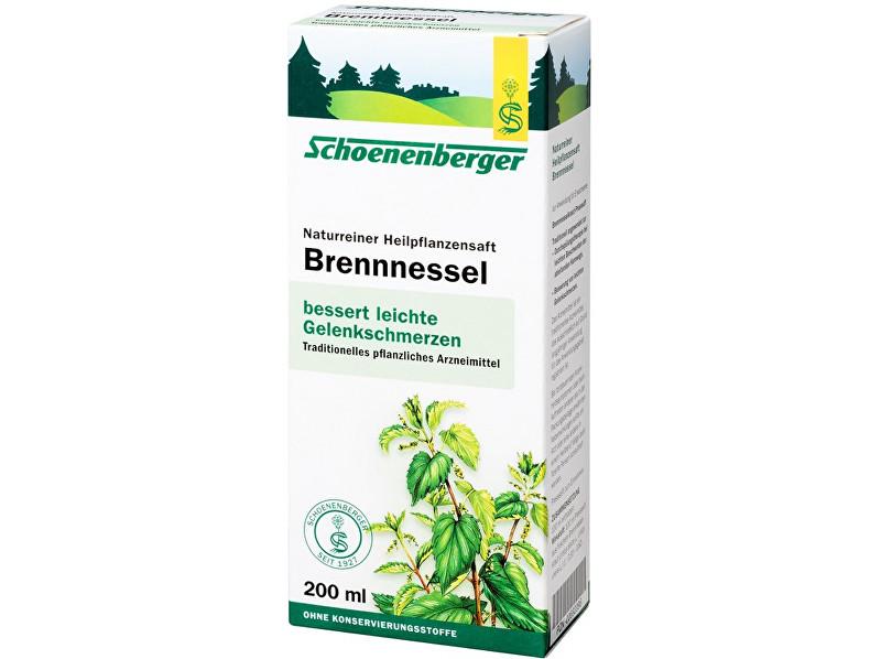 Schoenenberger Bio čerstvá rostlinná šťáva Schoenenberger - Kopřiva 200ml