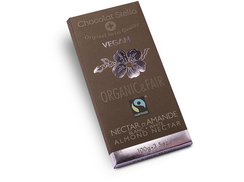 Zobrazit detail výrobku Stella Bio čokoláda bílá s mandlemi 100g, 11.11.2018