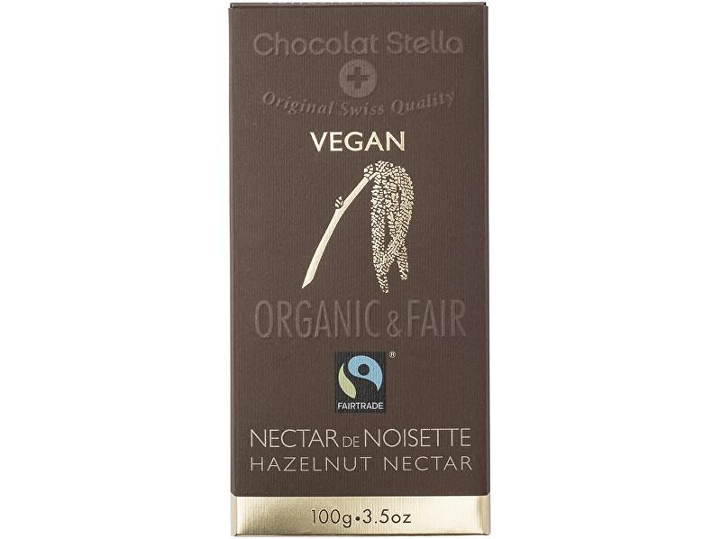 Stella Bio Čokoláda s lískovými oříšky, 43 % kakaa 100 g, min.trv. 22.11.2018