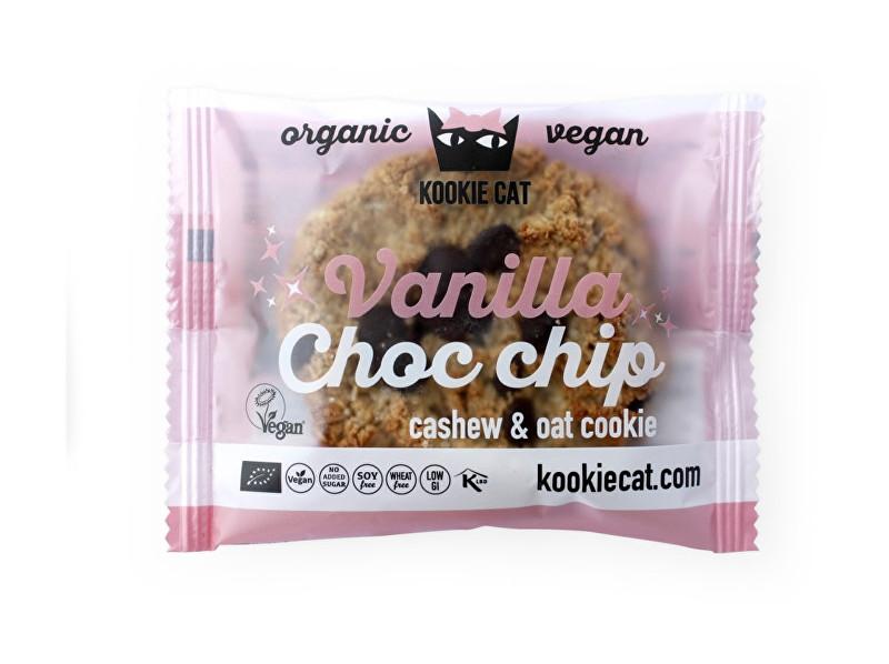 KOOCKIECAT Bio koláček ovesný bezlepkový vanilka a čokoláda 50g