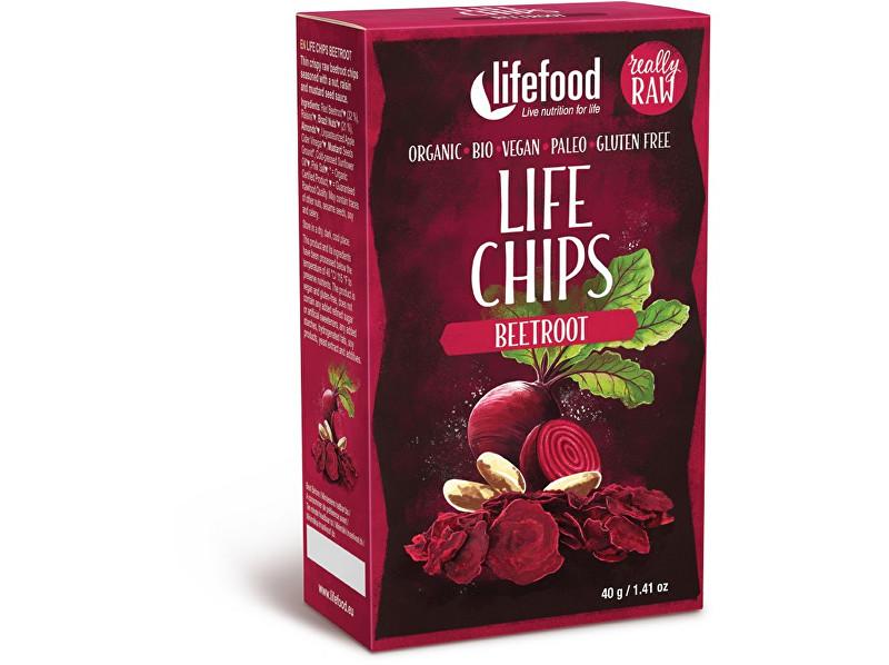Zobrazit detail výrobku Lifefood Bio Life chips červená řepa 40g