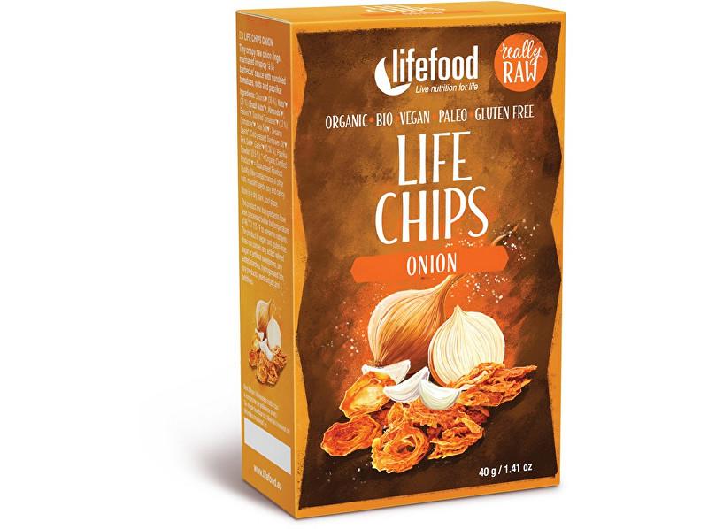 Zobrazit detail výrobku Lifefood Bio Life Chips cibulové 40g