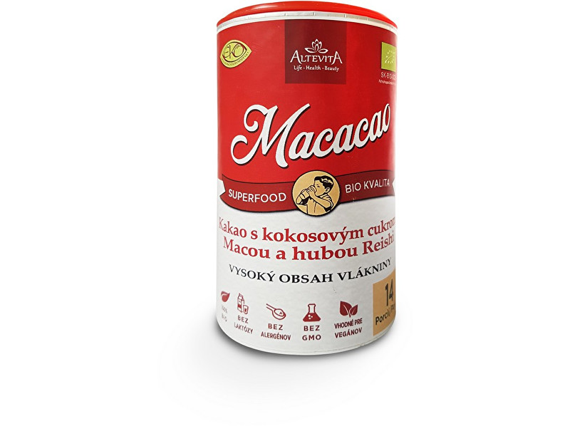 Zobrazit detail výrobku Altevita Bio macacao 210g