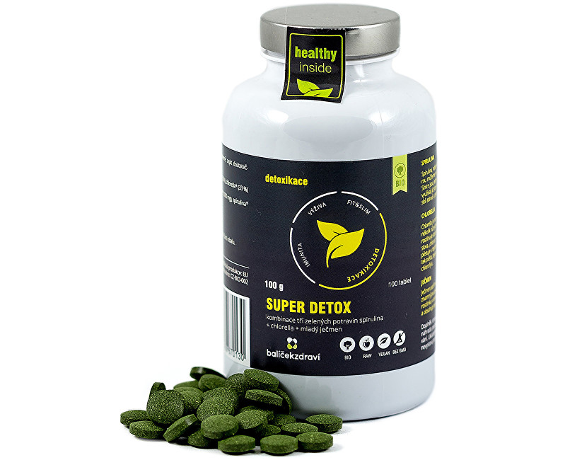 BIO Superdetox 1000 mg 100 tbl.