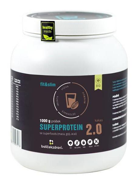 Zobrazit detail výrobku INFOOD BIO Superprotein 1000 g Kakao