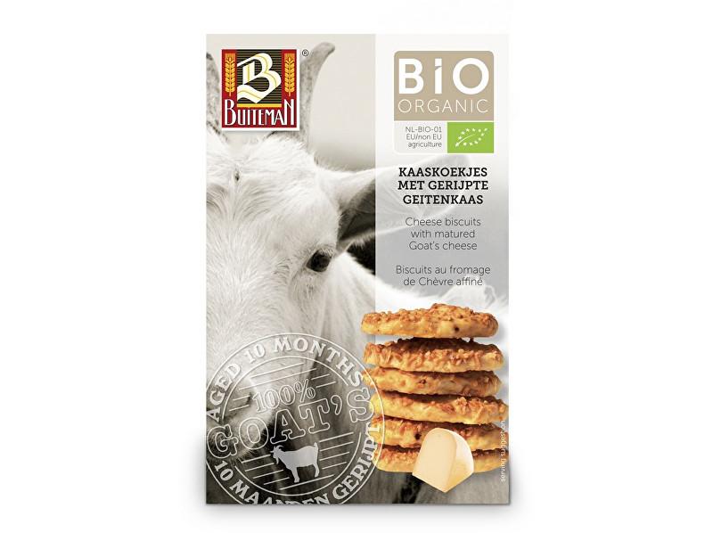 Zobrazit detail výrobku Buiteman Bio Sýrové biskvity se zralým kozím sýrem 75g