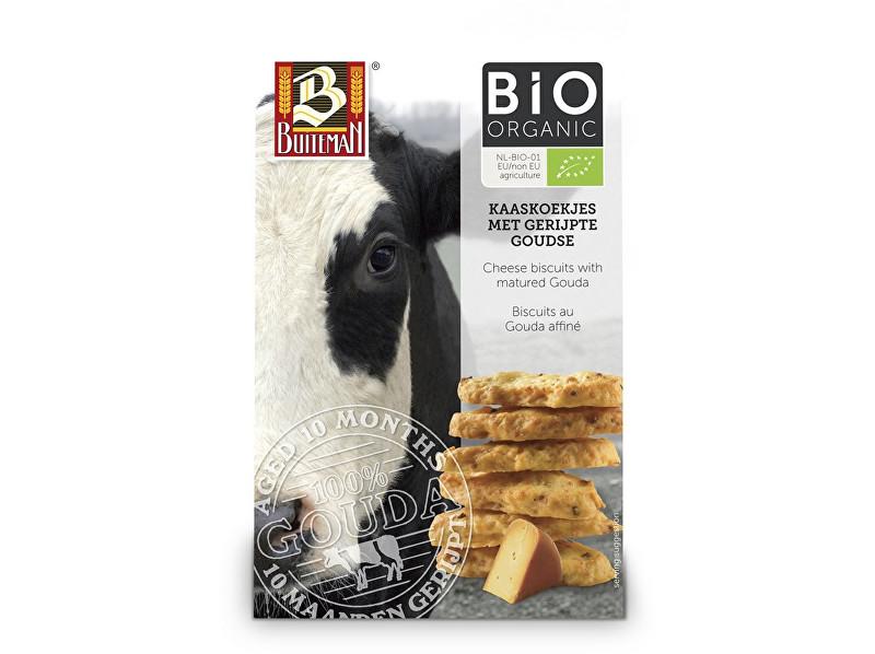 Zobrazit detail výrobku Buiteman Bio Sýrové biskvity se zralým sýrem Gouda 75g