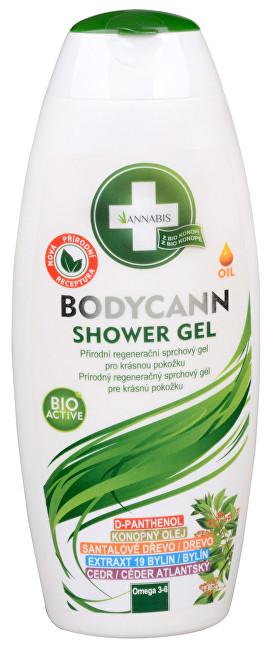 Bodycann přírodní sprchový gel 250 ml