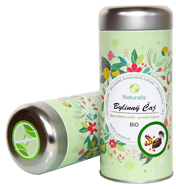 Zobrazit detail výrobku Naturalis Bylinkový čaj (Prostě krásná) Naturalis BIO 70 g