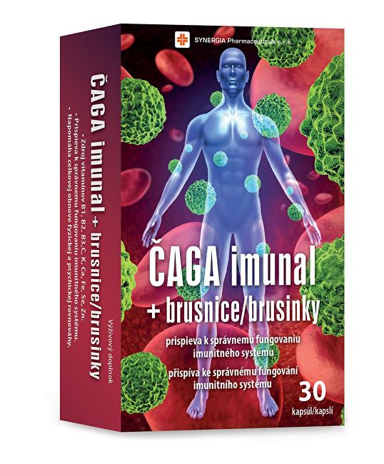 Zobrazit detail výrobku Synergia Čaga imunal + brusinky 30 kapslí