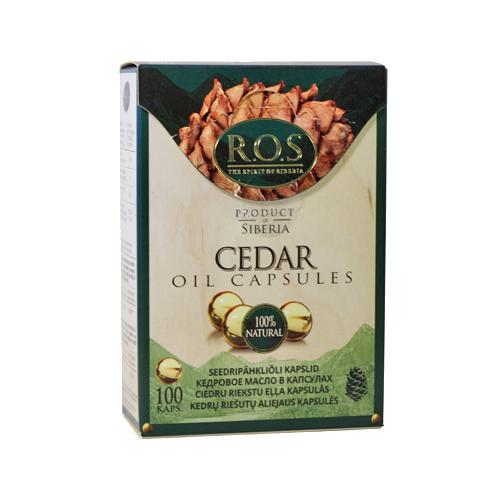 Zobrazit detail výrobku ROS LTD Cedrový olej 100 kapslí
