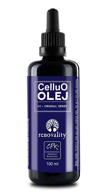 CelluO olej s pipetkou Renovality 100ml