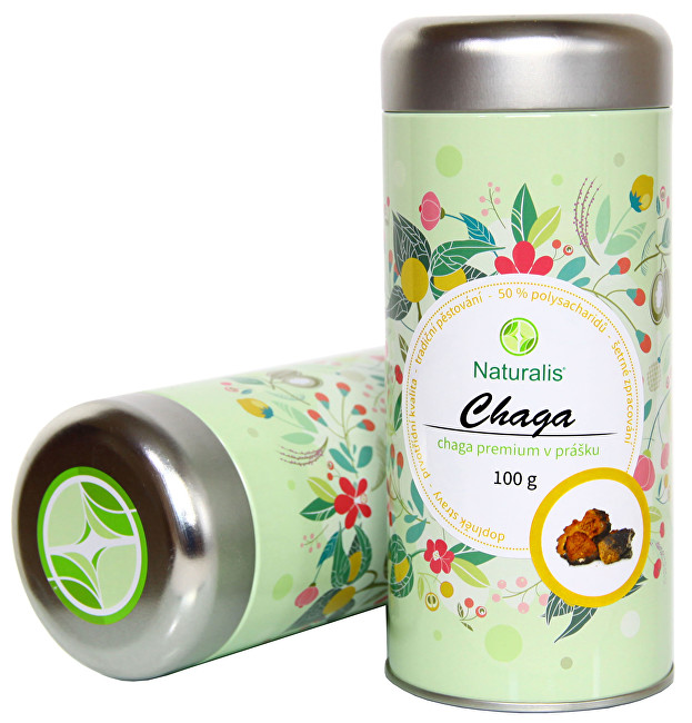 Zobrazit detail výrobku Naturalis Chaga Premium Naturalis 100 g