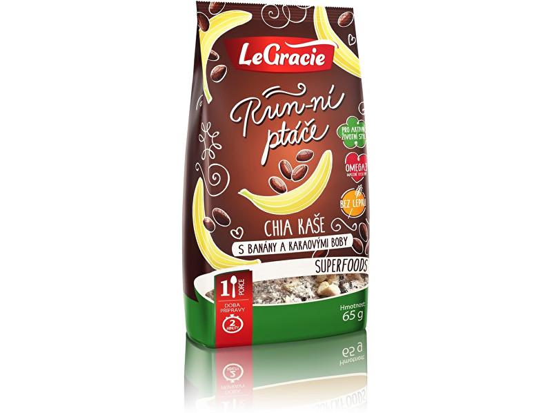 Zobrazit detail výrobku LeGracie Chia kaše - s banány a kakaovými boby 65g