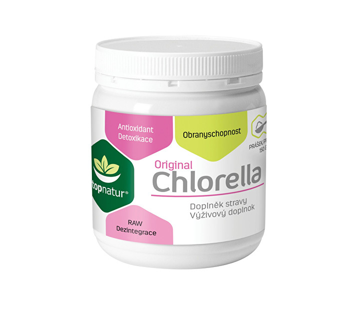 Zobrazit detail výrobku Topnatur Chlorella v prášku 150 g