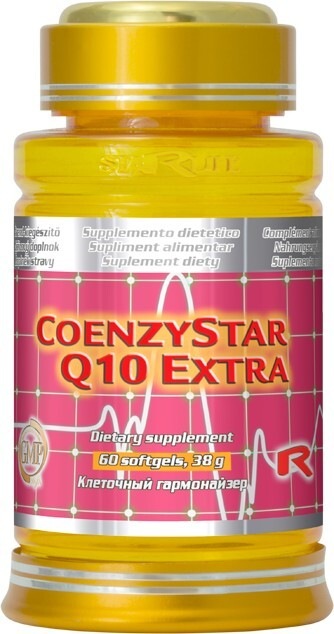 STARLIFE COENZYSTAR Q10 EXTRA 60 kapslí