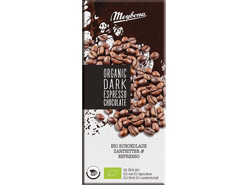 Zobrazit detail výrobku Meybona Bio Čokoláda hořká s kávovými zrny 52% 100g