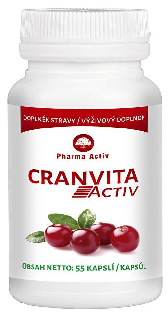 Zobrazit detail výrobku Pharma Activ Cranvita Activ 55 kapslí
