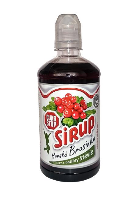 Zobrazit detail výrobku Cukr Stop sirup horská brusinka 500ml