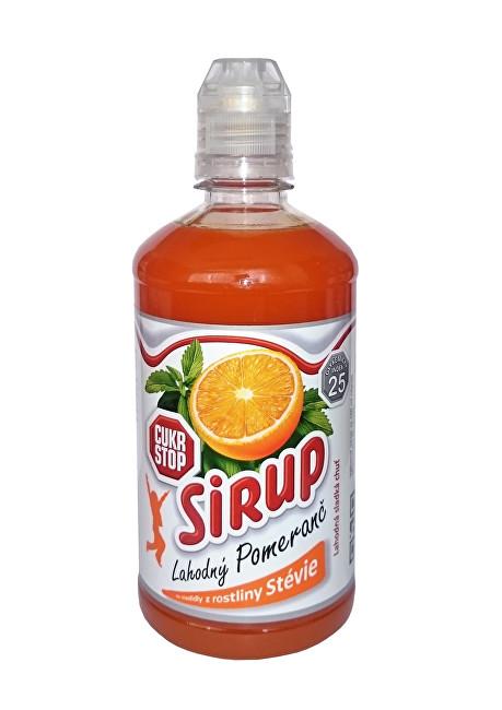 Zobrazit detail výrobku CukrStop CukrStop sirup se sladidly z rostliny stévie - příchuť pomeranč