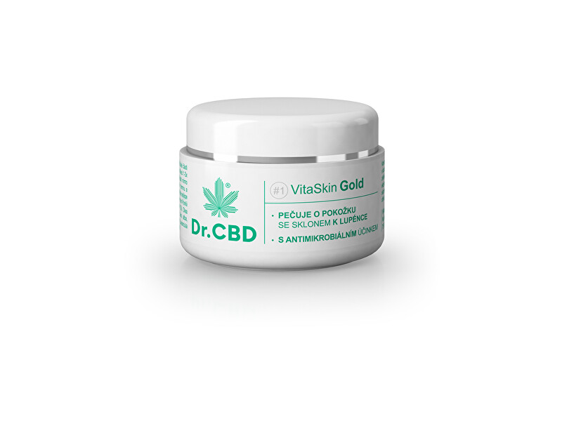 Zobrazit detail výrobku Dr.CBD VitaSkin Gold 30 ml