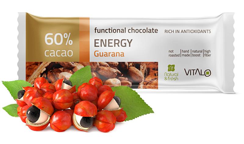 Funkční čokoláda Energy 25g