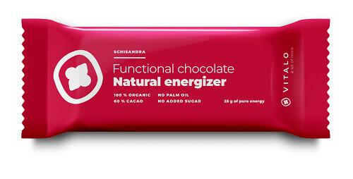 Zobrazit detail výrobku Vitalo Funkční čokoláda Natural Energizer 25g