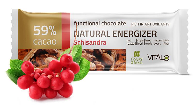 Funkční čokoláda Natural Energizer 25g