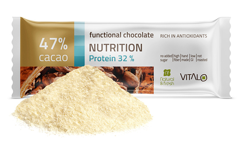 Funkční čokoláda Nutrition - Protein 32% 25g