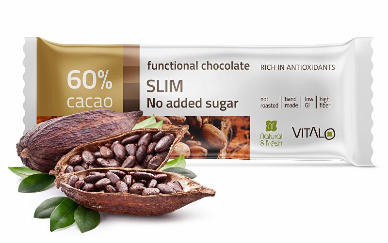 Funkční čokoláda SLIM 25g