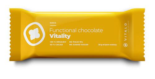 Zobrazit detail výrobku Vitalo Funkční čokoláda Vitality - Maca 25g