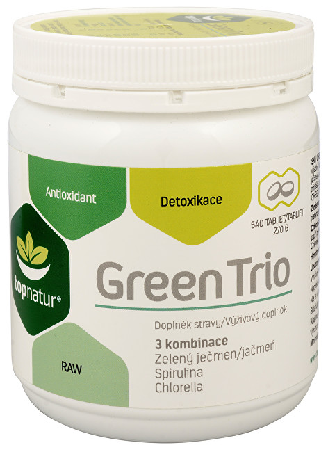 Green Trio 540 tbl.