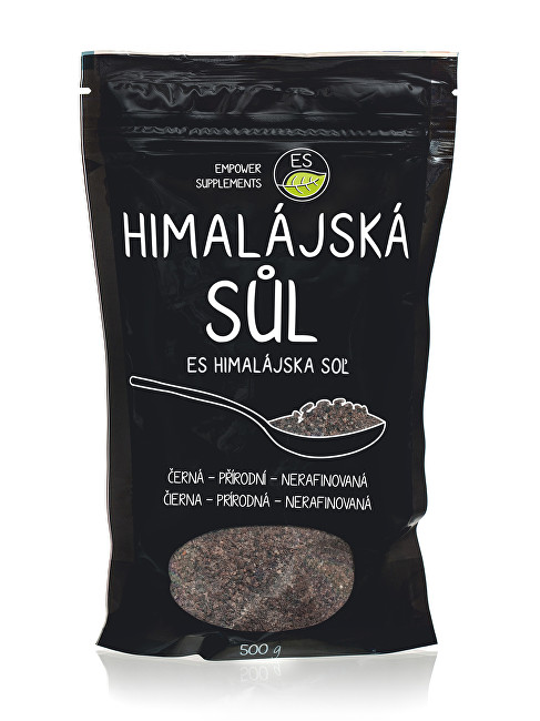 Empower Supplements Himalájska soľ čierna 500 g