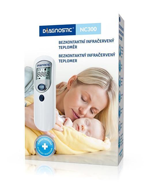 Zobrazit detail výrobku Biotter Pharma Infračervený bezdotykový teploměr Diagnostic NC 300