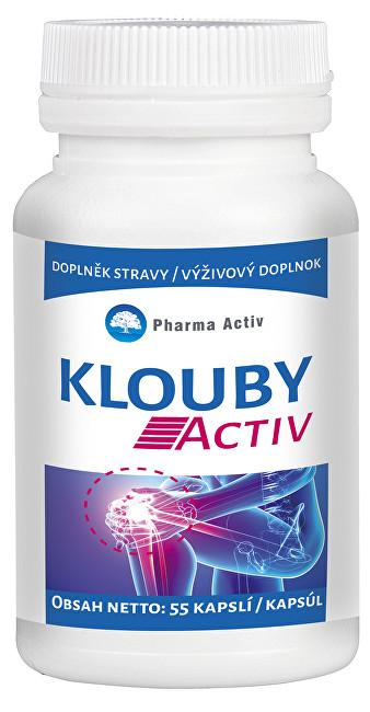 Zobrazit detail výrobku Pharma Activ Klouby Activ 55 kapslí