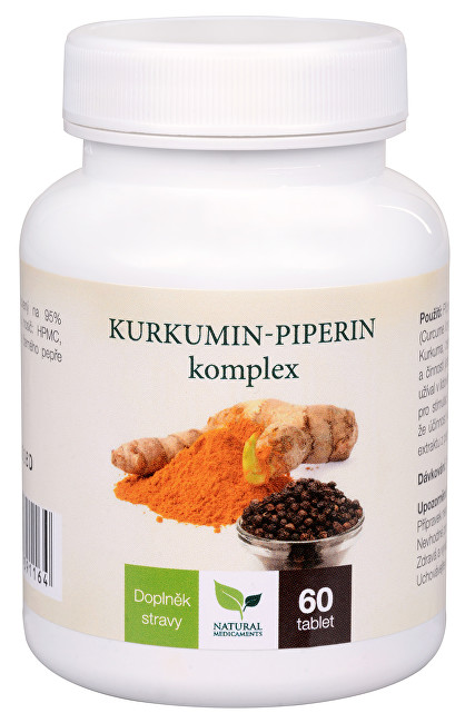 Kurkumin-piperin komplex 60 tablet