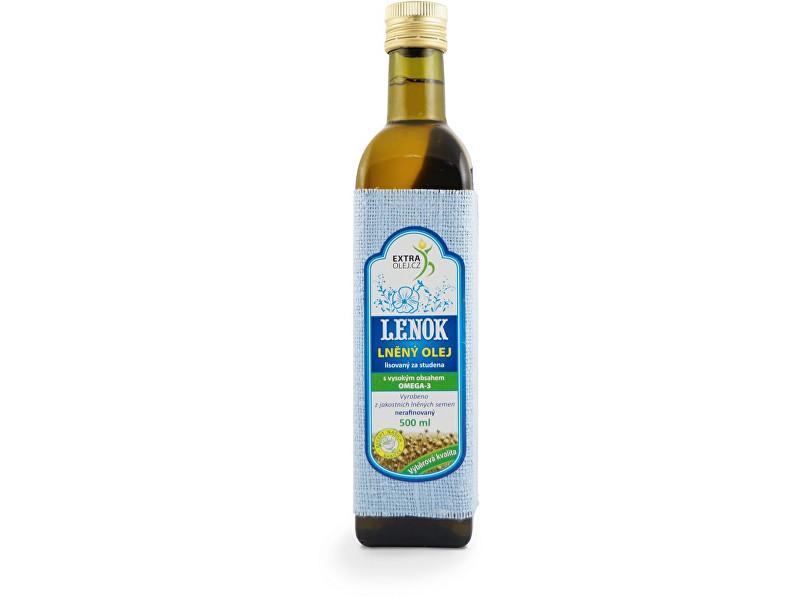 Zobrazit detail výrobku Extra Olej Lněný olej 500ml