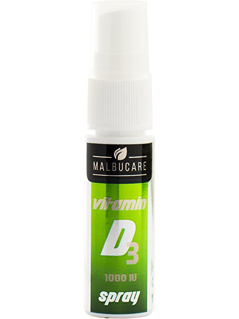 Malbucare Vit D3 1000IU 15 ml spray